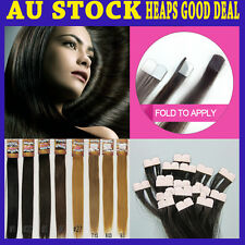 """20"""" Micro Tape Remy Human Hair Extension New Technique More Invisible & Comfy"""