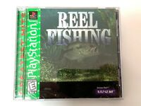 Reel Fishing - PS1 PS2 Playstation Game Complete