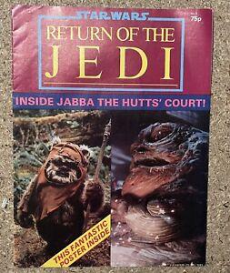 Star Wars, Return Of The Jedi Poster Magazine Issue 2, 1983