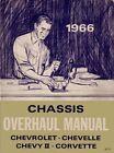 1966 Chevelle Chevy II Corvette Repair Overhaul Manual