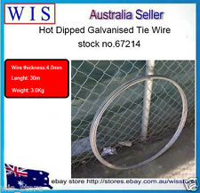 GALVANISED TIE WIRE 3Kg,4.0mm,30m(L)-SOFT TIE WIRE FENCING WIRE FOR MESH-67214