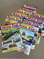 Job Lot Bundle of 10 Issues of Model Rail Magazine Jan 2006 - Oct 2006
