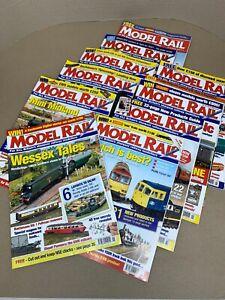 Job Lot Bundle of 10 Issues of Model Rail Magazine Jan 2006 - Oct 2006