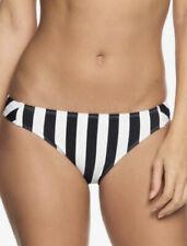 Roxy™ Beach Basic - Full Bikini Bottoms -  True Black Big Simple Stripe Women XL