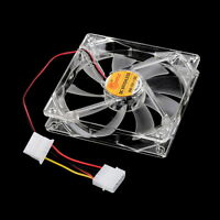 Sleeve Bearing Technology Fans 4 LED Blue for Computer PC Case Cooling 120MM SY
