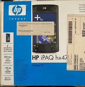 HP hx4700 Series PDA - in box never used