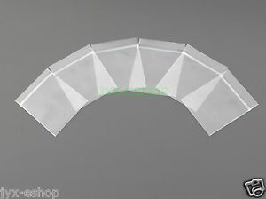 "50 PCS 1.2"" x 1.5"" Inch (30 x 40mm) Poly Zipper Bags 4 Mil THICK Plastic Packing"