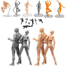 Male/Female PVC Action Figma Archetype Figure Model Body Toy For Drawing Sketch