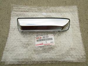79-83 TOYOTA PICKUP FRONT RIGHT SIDE EXTERIOR DOOR OPENER HANDLE CHROME OEM NEW