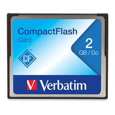 Verbatim CompactFlash Memory Card, 47012,2GB, TAA 47012
