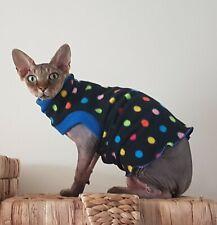 older kitten DOTS vest, clothes for a Sphynx, Sphynx cat clothes, Nacktkatze