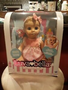 New In Unopened Box Luvabella Interactive Blonde doll