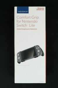 Insignia Comfort Grip for Nintendo Switch Lite - Handheld Switch Grip