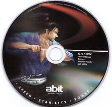 ABIT DRIVER CD TREIBER AW9D-MAX, AW9D, AW8D