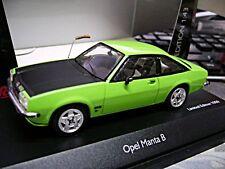 OPEL Manta B grün green Manni´s Manta mit Fuchsschwanz  1/1000 Schuco 1:43