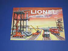 1958 LIONEL CATALOG-NEW