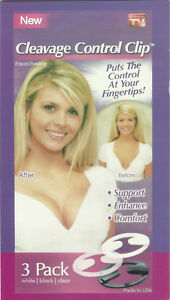 Amazing Cleavage Control Clip puts the contol in your hands 3 Pack @ Bettyboob