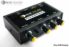 K&K Pure XLR Preamp - acoustic guitar preamp - free postage