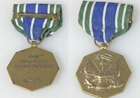 MEDAL ,U.S. ARMED FORCES ARMY, 1775, FOR MILITARY ACHIEVEMENT WITH RIBBON