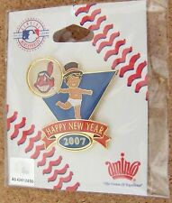 2007 Cleveland Indians Baby New Year's lapel pin