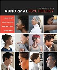 Abnormal Psychology (17th Edition) by Jill M. Hooley ( US Looseleaf Edition )