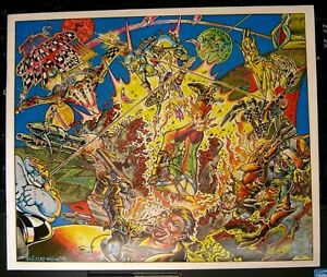 the Checkered Demon #3 S Clay Wilson VF+ Last Gasp 1979 free ship