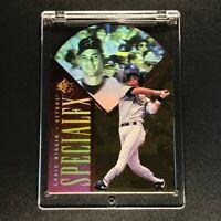CRAIG BIGGIO 1996 SP #12 SPECIAL FX RED DIE CUT HOLOVIEW ASTROS INSERT MLB