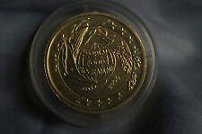 2 Euro vergoldet, Gedenkmünze Welt-Ernährungsprogramm 2004 aus Italien