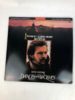 Dances With Wolves LD Laserdisc - Kevin Costner - Fast Free Shipping