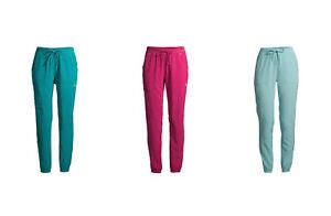 Scrubstar Seasonal Contrast 4-Way Mid Rise Stretch Jogger Drawstring Scrub Pants