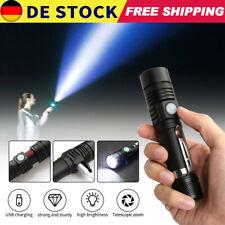 Super hell 80000lm Taschenlampe LED Polizei Taktisches Fackel Wiederaufladbar DE
