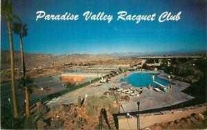 Paradise Valley Racquet Club Scottsdale Arizona Petley Postcard pool 21-3845
