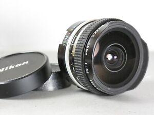 Nikon Fisheye-Nikkor 16mm f/3.5 Lens *Non-AI*