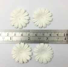 500 White Small Daisy Die Cut Petal Paper Wedding Craft Card Making P70-15