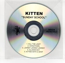 (GN872) Kitten, Sunday School - DJ CD