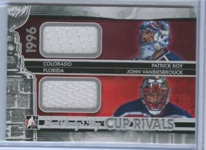 ROY/VANBIESBROUCK - ITG Lord Stanley's Mug Cup Rivals Dual Jersey Silver #/80