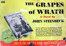 Armed services edition 690 Steinbeck - the grapes of wrath