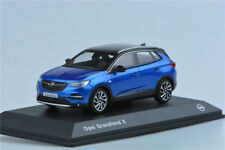 Original factory 1:43 Opel Grandland X   Alloy car model Blue