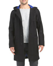 Theory Crosby Black Wool Cashmere Blend Men's Coat Size L $845 NWT
