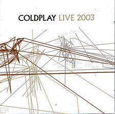 CD + DVD - COLDPLAY - Live 2003