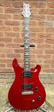 PRS SE Custom 22 Electric Guitar, Fixed Wraparound Bridge - Red