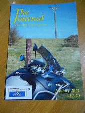 THE JOURNAL THE BMW CLUB MAGAZINE JAN 2015 NEAR MINT BIKE MOTORBIKE MOTORCYCLE