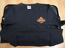 T SHIRT XL 100% COTTON   MAIDSTONE BEER AND HOP FESTIVAL  2004 BLACK