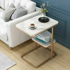 C-Shape Side Table for Sofa Living Room Side Tea Coffee Table for Sofa Classic
