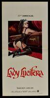 Plakat Lady Lucifera Carmen Villani Alfredo Landa Crocitti Sarg Vampir N63