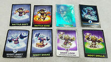 Lot of 32 Skylanders Collectible Trading Cards Adventure, Giants, Swap Force