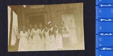 Women First Domestic Science High School Class AZO REAL PHOTO RPPC Postcard 1910