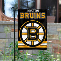 Boston Bruins Garden Flag and Yard Banner