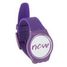 Now Watch - Be Present in the Moment with WristBand That Says Now - For Men #62S