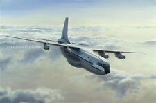 Short Belfast Royal Air Force Transport Aircraft Plane Painting Art Print